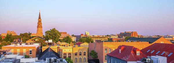 Charleston Glows Poster