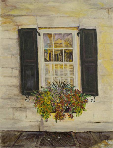 Charleston Window Poster
