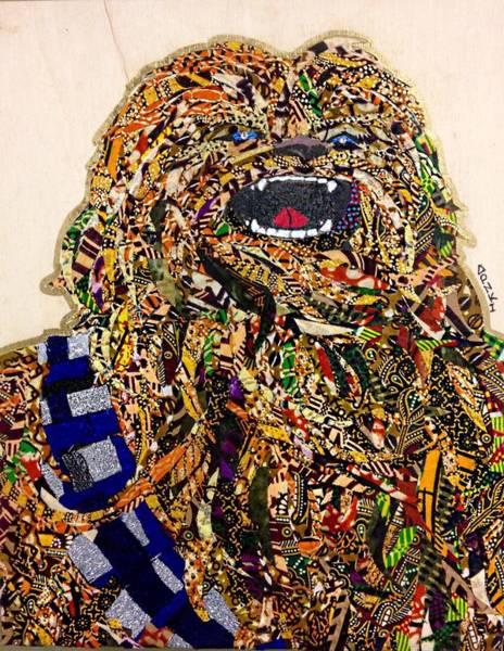 Chewbacca Star Wars Awakens Afrofuturist Collection Poster