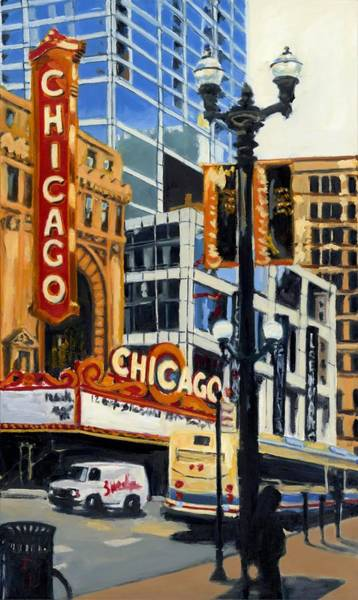 Chicago - The Chicago Theater Poster