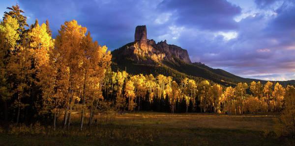 Chimney Rock Colorado Poster