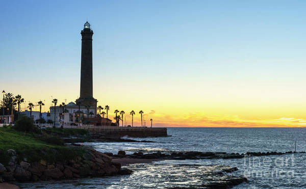 Chipiona Lighthouse Cadiz Spain Poster
