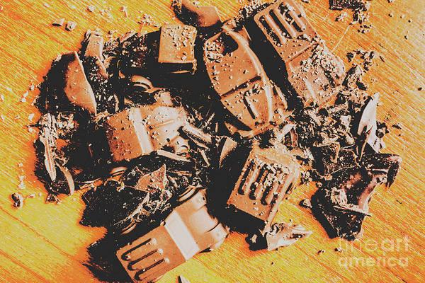 Chocolate Demolition Derby Poster
