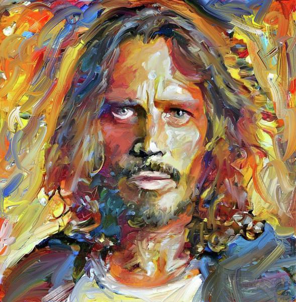 Chris Cornell Tribute 2017 Portrait Poster