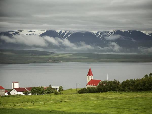 Church In Akureyri Poster