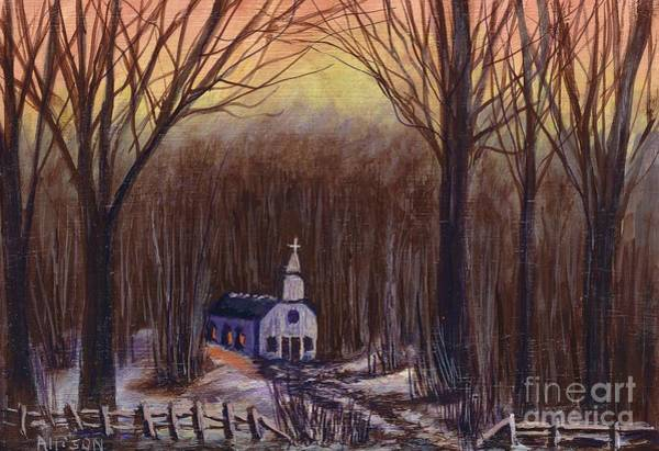 Church In The Woods  Poster