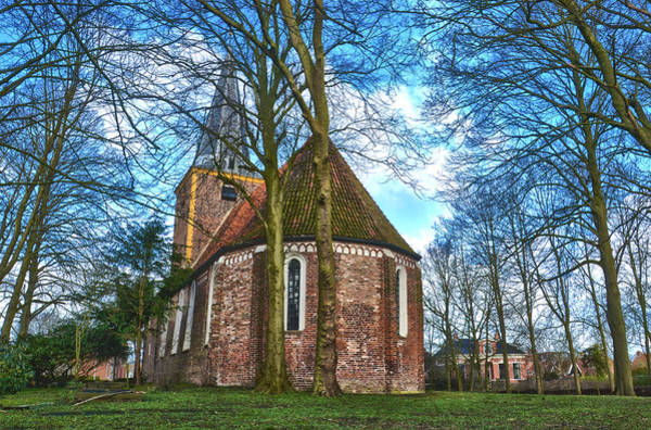 Church In Winsum Poster