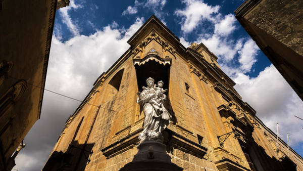 Church Of St. Roque - Mdina, Malta - Travel Photography Poster