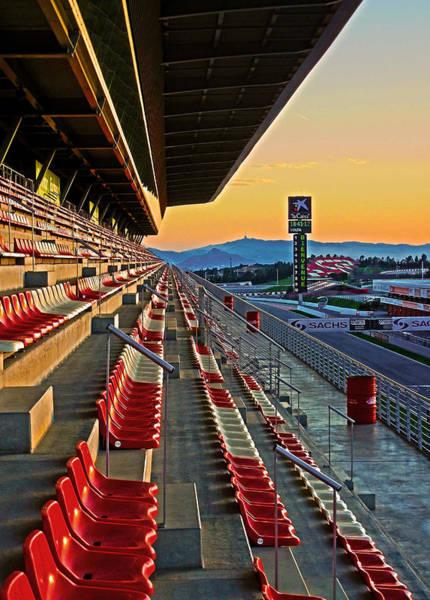 Circuit De Catalunya - Barcelona  Poster