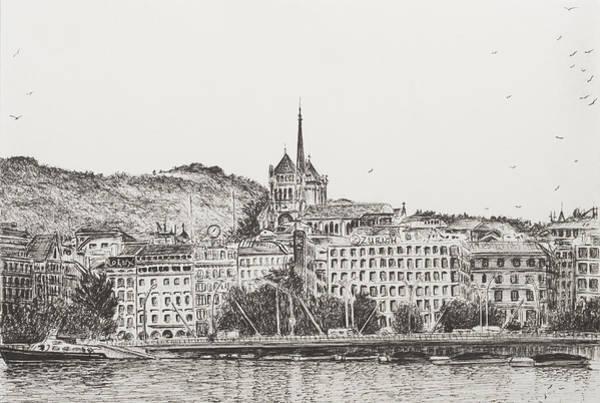 City Of Geneva Poster