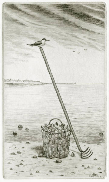 Clamming Poster