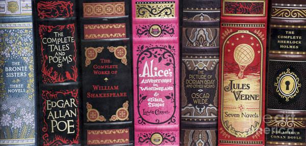 Classic English Literature Books Poster