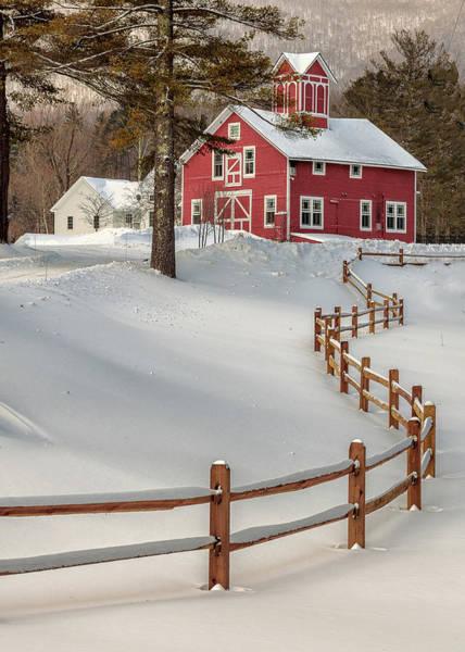 Classic Vermont Barn Poster