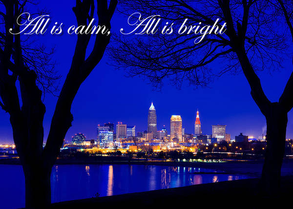 A Cleveland Christmas Poster