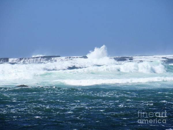 Cliffs Of The Aran Islands 2 Poster