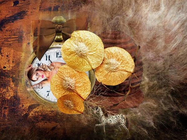 Clock Girl Poster