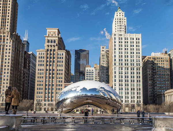 Cloud Gate To Chicago Poster