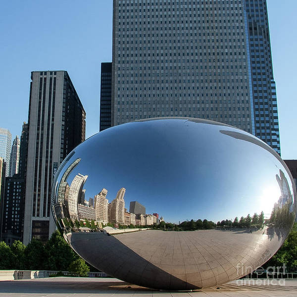 Cloudgate Reflects Poster