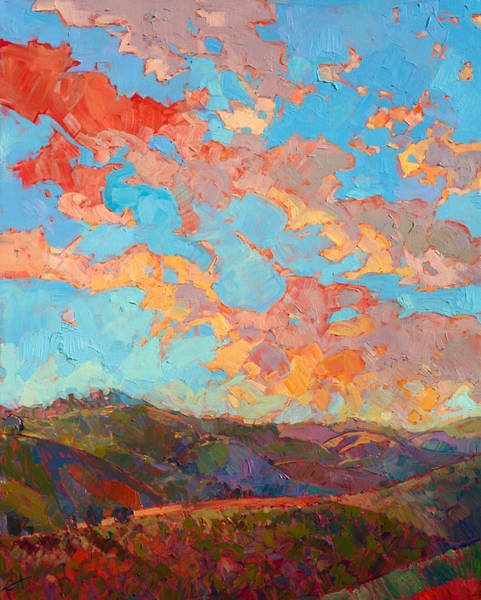 Clouds Over Paso Poster