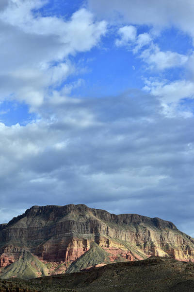 Clouds Over Virgin River Canyon Poster