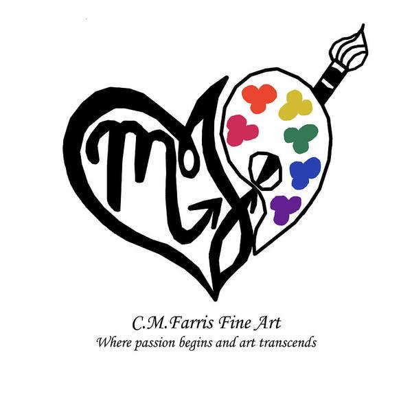 Cmfarris Logo Brand Poster