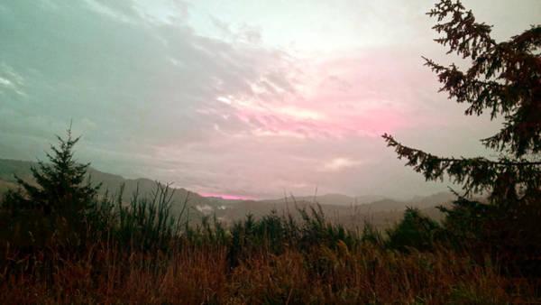 Coastal Mountain Sunrise Viii Poster
