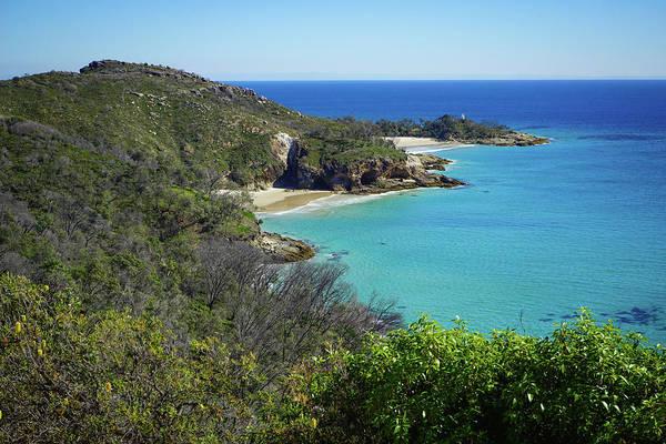Coastline Views On Moreton Island Poster