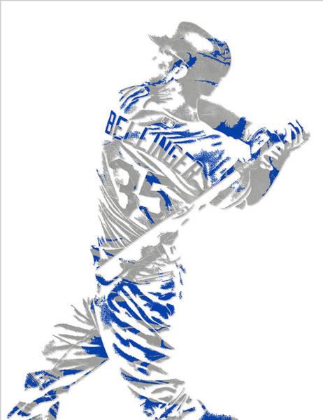 Cody Bellinger Los Angeles Dodgers Pixel Art 2 Poster