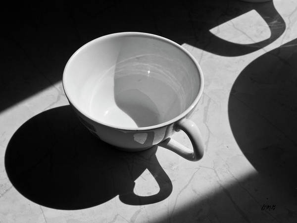 Coffee Cup In Light And Shadow Poster