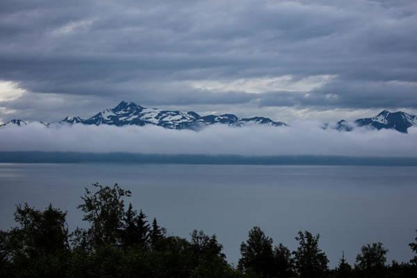 Cold Morning In Alaska Poster