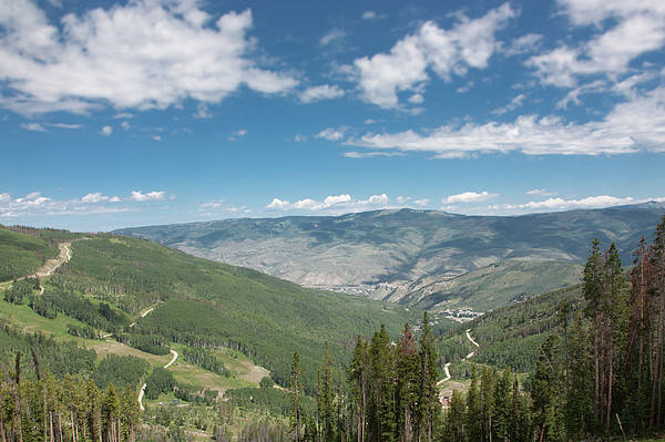 Colorado Vista From Trail To Beaver Lake Poster