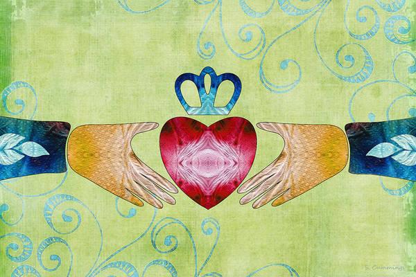 Colorful Art - Friendship - Sharon Cummings Poster