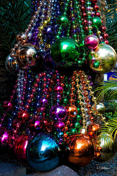 Colorful Baubles Poster