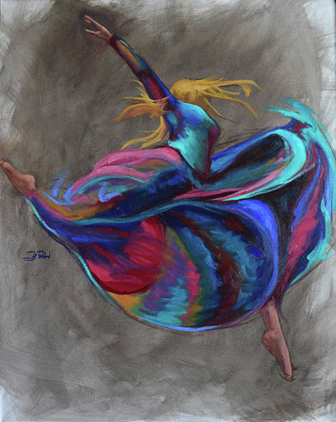 Colorful Dancer Poster