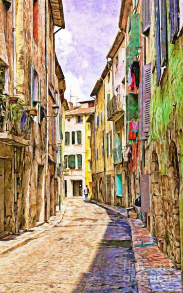 Colors Of Provence, France Poster