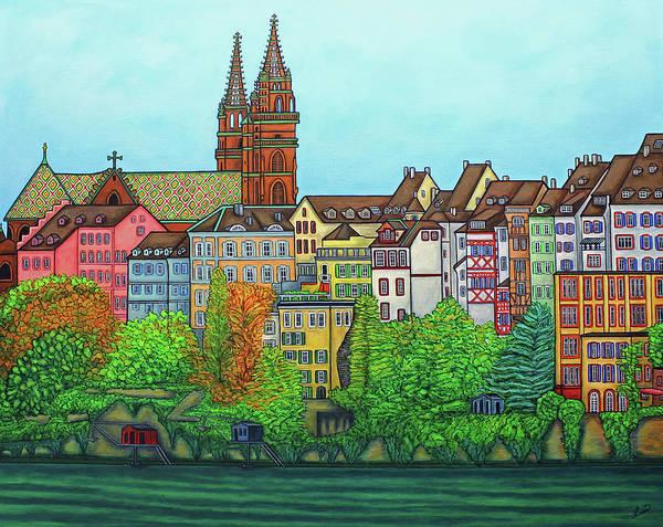 Basel, Colours Of Basel Poster