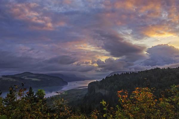 Columbia Gorge Sunrise Poster