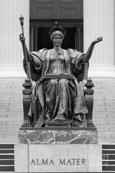 Columbia University Alma Mater Poster
