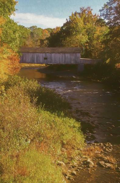 Comstock Covered Bridge Poster