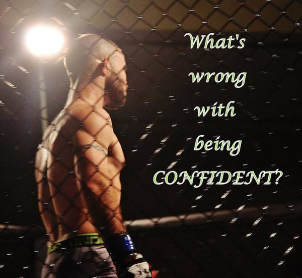 Confident Poster