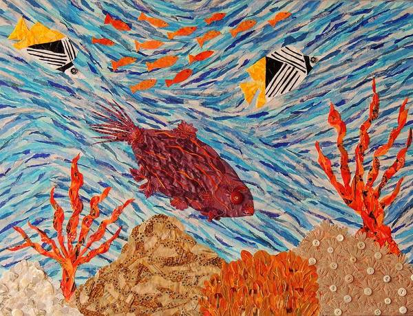 Coral Reef Currents Poster