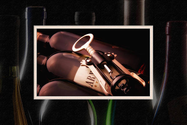Corkscrew Matted Poster