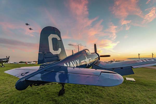 Corsair Sunset Poster