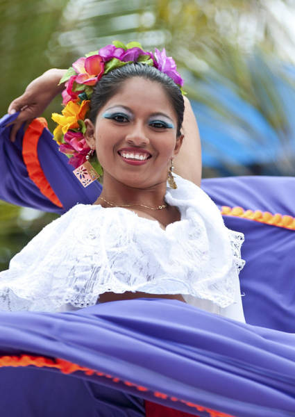Costa Maya Dancer Poster
