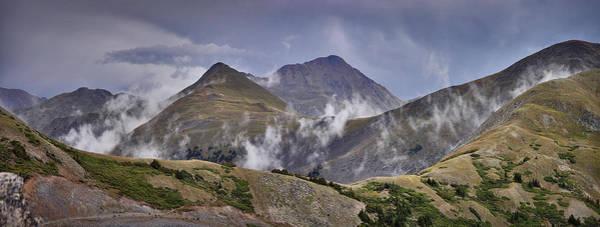 Cottonwood Pass Peaks Panorama Poster