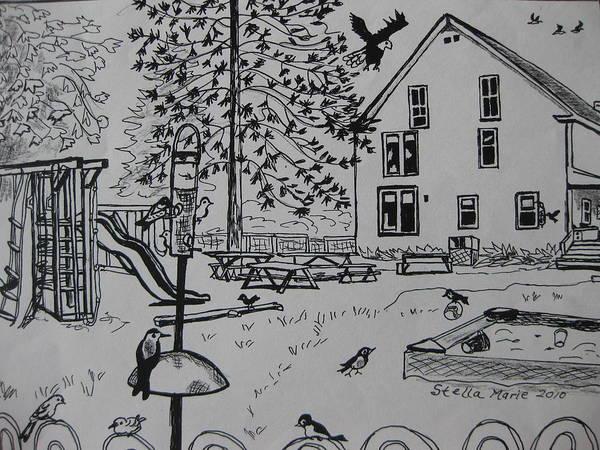 Count The Fifteen Birds Poster