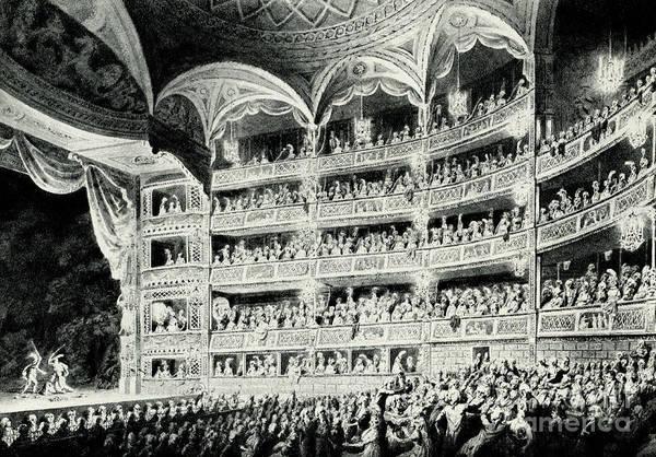 Covent Garden Theatre, 1795 Poster