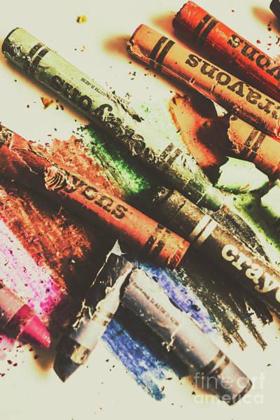 Crash Test Crayons Poster