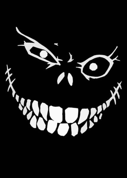 Crazy Monster Grin Poster