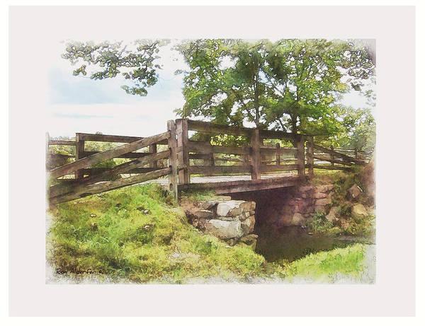 Creek Bridge Poster
